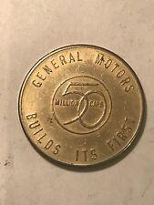 General Motors 1954 50 Million Cars Token