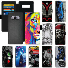 Cool Racing Car Stylish Popular Flip Wallet Phone Case Cover Fr Apple Samsung LG