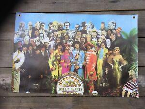 The Beatles  bar banner man cave flags rock band album cover mens mancaveideas