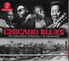 Chicago Blues - CD - 3 x discs - 2012 - UK FREEPOST