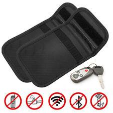 2x Car Key Fob Signal Blocker Keyless Entry Guard Pouch Faraday Bag Security