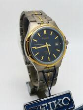 Pulsar PXD 812 SEIKO Titanium Quartz Mineral GlassWristwatch New