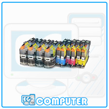 KIT 10 CARTUCCE BROTHER LC223 4 NERE 2 CIANO 2 MAGENTA 2 GIALLO YELLOW LC-223