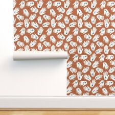 Removable Water-Activated Wallpaper Chrome Hands Summer Indian Boho Ibiza Aztec