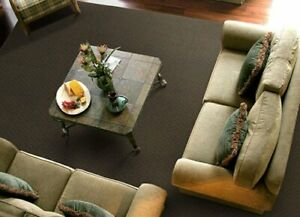 Garland Rug Town Square Area Rug 7-Feet 6-Inch by 9-Feet 6-Inch Chocolate