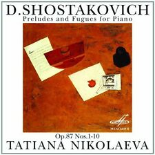 Shostakovich - Preludes & Fugues Op 87 Nos [New CD]