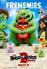 The Angry Birds Movie 2 Movie Poster (24x36) - Frenemies, Bomb, Red, Chuck v5