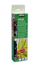 Pebeo VITRAIL Transparent Colour Glass Paint Discovery Set 6 x 20 ml Pots