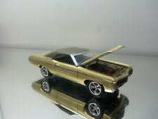 2011 LE Johnny Lightning 1969 '69 Chevy Impala SS - Mf. Gold - Mint Loose 1/64 S