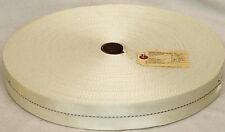 GI Nylon Webbing NSN 8305-00-263-3591 - 100 Yards Roll White