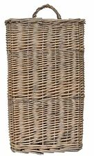 Country Rustic Large Long & Wide Natural Willow Wall Basket/ Wall Pocket