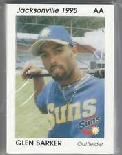1995 JACKSONVILLE SUNS TEAM SET 30 CARDS COMPLETE AA DETROIT TIGERS
