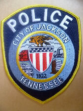 Patches: CITY OF JACKSON TENNESSEE 1822 POLICE PATCH (NEW*apx.12x10 cm)