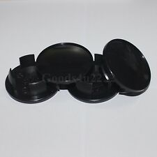 4x Auto 54MM Aftermarket Black Wheel Center Hub Cap Cover For Mini Cooper
