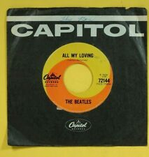 BEATLES.ALL MY LOVING / THIS BOY.1965 CAPITOL 72144.CANADA.VG++
