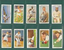 CARD COLLECTORS SOCIETY - SET OF 50 OGDEN'S ' CHAMPIONS OF 1936 ' CARDS