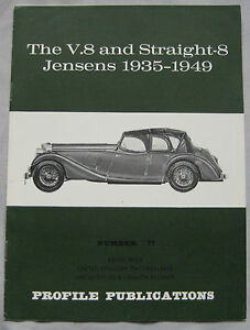 Profile Publications magazine Issue 77 featuring 1935-49 V8 & Straight-8 Jensens