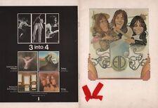 EMERSON, LAKE & PALMER 1972 TRILOGY TOUR U.K. CONCERT PROGRAM BOOK