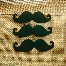 "3"" Mustache Confetti 50CT Littleman Baby Shower 1st Birthday"
