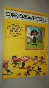 CORRIERE DEI PICCOLI N. 33 1966 - LE CROCIATE DI TOPPI + ALBETTO