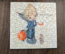"""Vintage Betsey Clark Mini Puzzle - """"Let the Sunshine In"""" - Complete"""
