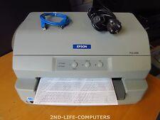 Epson PLQ-20 M P381A - 24-Pins USB Dot Matrix MSR Impact Passbook Printer TESTED