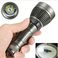 2600Lumen 80M CREE XM-L T6 LED Diving Flashlight Torch Scuba Light Lamp 26650 WT