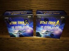 TWO 2016 Star Trek 50th Anniversary Factory SEALED Trading Card HOBBY Boxes