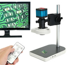 14MP 1080P HDMI USB Digital Industry Video Microscope Set Camera C-mount Len DVR