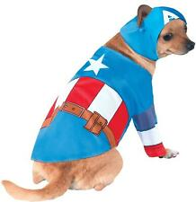 Superhero Dog Captain America Pet Costume X-Large