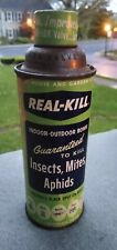 Vintage Real Kill Bug killer Insects Mites Aphids Spray Bomb U.S.A.