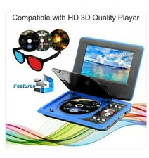 "9"" Portable DVD Player with 200 Classic Games/Controller!"
