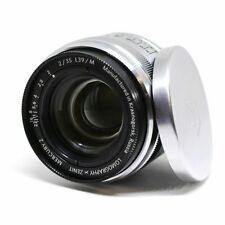 Mercury 2 Lomography Zenit lens 2/35 L39/M