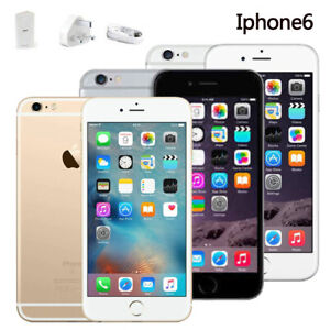 New in Sealed Box Factory Unlocked Apple iPhone 6 16/64/128GB Grey Silver Gold