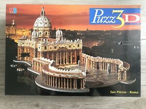Puzz 3D San Pietro Roma St Peters 966 Pieces Jigsaw Puzzle New And Sealed