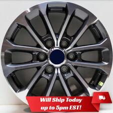 """2018 2019 Ford F150 F-150 18"""" OEM Factory Alloy Wheel Rim 10169 Machined / Grey"""