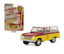 1967 FORD BRONCO SHELL OIL 1/64 DIECAST MODEL CAR BY GREENLIGHT 41020 B