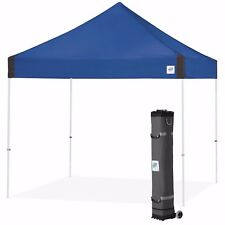 E-Z UP Vantage Canopy Instant Shelter 10ft x 10ft Gazebo Tent - Royal Blue