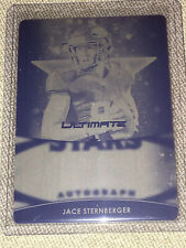 JACE STERNBERGER 2019 LEAF ULTIMATE PRINTING PLATE CARD #1/1 PACKERS TEXAS A&M
