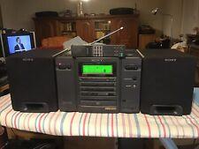 SONY CD Radio Recorder Ghettoblaster Mod. CFD-758 S