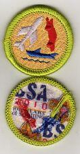 """Model Design & Building Merit Badge, Type K, """"BSA 2010"""" Back (2010-12), Mint!"""