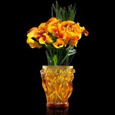 """NEW AUTHENTIC LALIQUE BACCHANTES AMBER """"ANNIVERSAIRE EDITION"""" NUMBERED (LARGE)"""