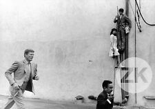 PIERROT LE FOU Anna KARINA J-P. BELMONDO Karoubi Meyer JLG GODARD Photo 1965