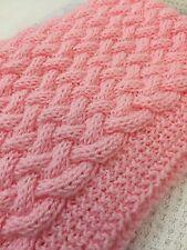 Knitting Pattern Cesto di Vimini - - Weave Baby Blanket