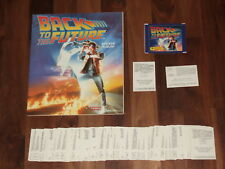 Back To The Future Panini 1985 nr-empty album, Complete loose sticker Set & more
