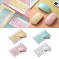 Wireless Keyboard Mouse Jelly Comb 2.4GHz Ultra Slim Compact Portable Wireless