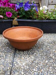 Vintage Terracotta Bulb Bowl Plant Pot Succulents 27cm Diameter