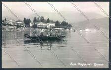 Verbania Baveno Barca Battello Foto cartolina ZQ6852