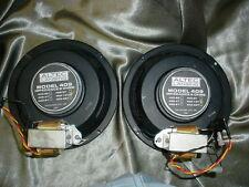 """Pair Altec 8"""" Coaxial/Duplex Spkrs Model 409-16T with Transformers Parts/Repair"""