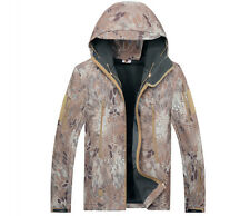 Green Snake Camo Brown Python Hunting Clothing Waterproof Windproof Hood Jacket